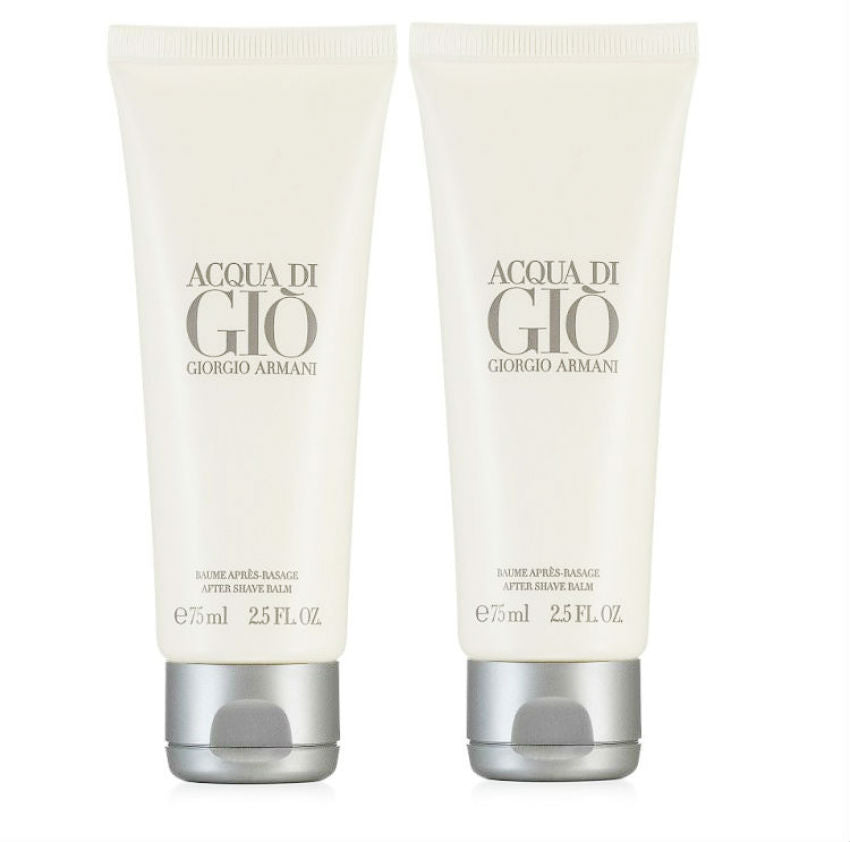 ACQUA DI GIO for Men by Giorgio Armani  After Shave Balm 2.5 oz - 2 Pack - Cosmic-Perfume