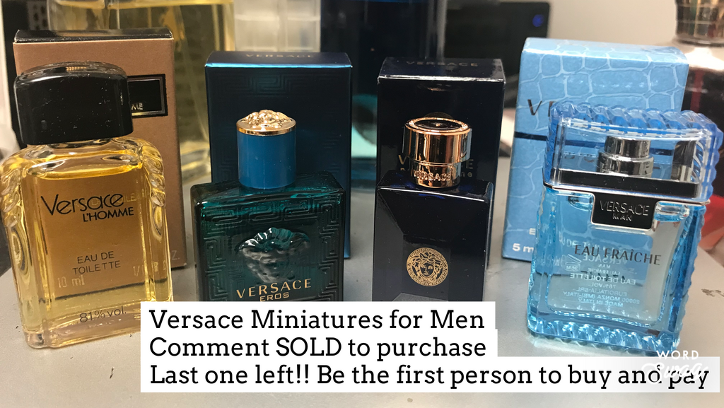 Versace for Men Miniature Bundle - Cosmic-Perfume