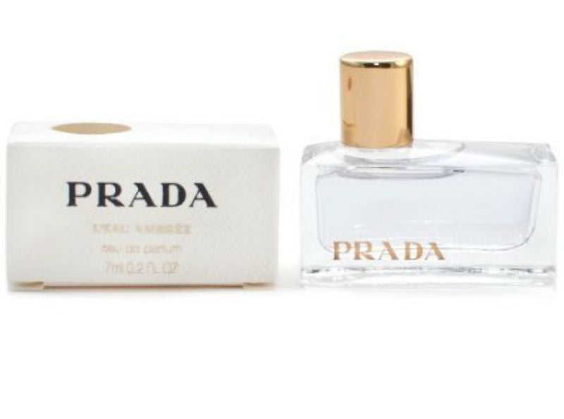 Prada L'eau Ambree for Women EDP Mini Splash 0.2 oz