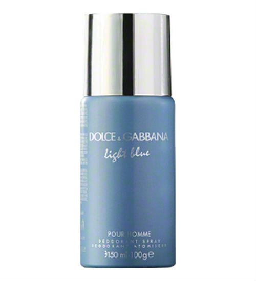 Dolce & Gabbana Light Blue for Men by Dolce & Gabbana Deodorant Spray 5.0 oz - Discount Bath & Body at Cosmic-Perfume