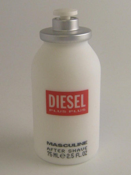 Diesel Plus Plus Masculine for Men by Diesel After Shave Splash 2.5 oz (Unboxed) - Discount Bath & Body at Cosmic-Perfume