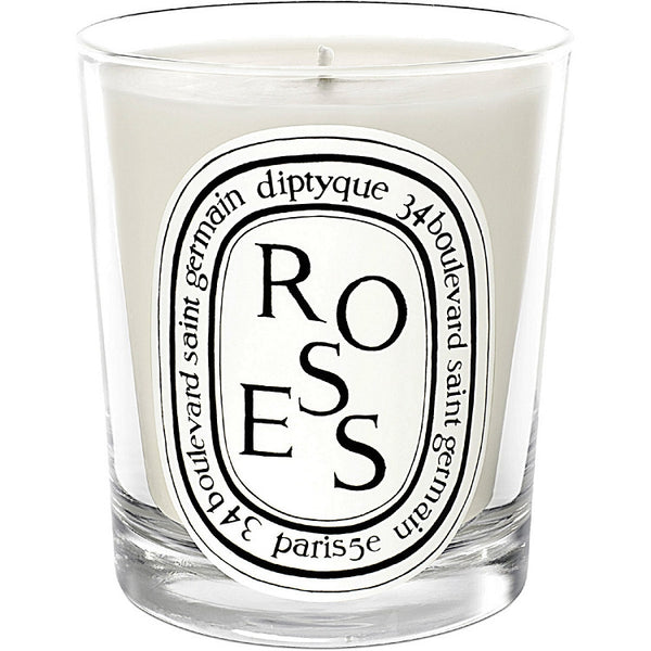 Diptyque Roses Scented Candle 6.5 oz (New in Box) - Discount Accessories at Cosmic-Perfume