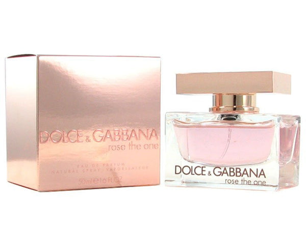 D & G Rose The One for Women by Dolce & Gabbana EDP Spray 1.7 oz - Cosmic-Perfume