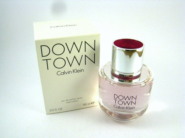 DOWNTOWN for Women by Calvin Klwin EDP Spray 3.0 oz (Tester) - Discount Fragrance at Cosmic-Perfume