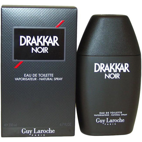 Drakkar Noir for Men by Guy Laroche EDT Spray 6.7 oz (New in Sealed Box) - Discount Fragrance at Cosmic-Perfume