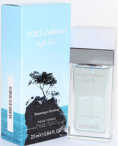 Light Blue Dreaming in Portofino for Women by Dolce & Gabbana EDT Spray 0.84 oz (New in Box) - Discount Fragrance at Cosmic-Perfume