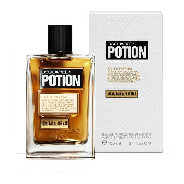Dsquared2 Potion for Men Eau De Parfum Spray 3.4 oz - Discount Fragrance at Cosmic-Perfume