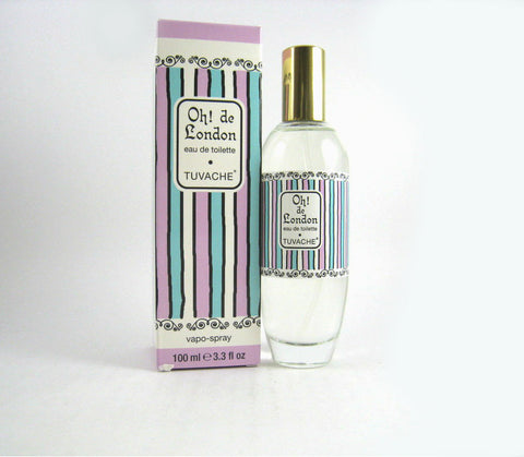 Tuvache Oh de London! for Women by Irma Shorell Eau de Toilette Spray 3.3 oz