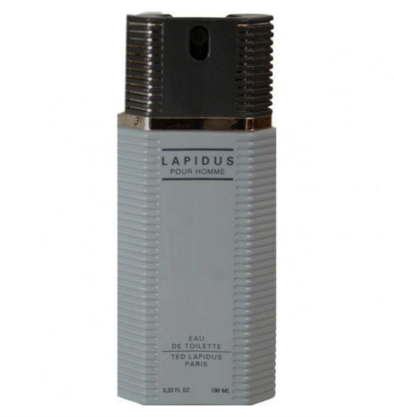 Lapidus Pour Homme for Men by Ted Lapidus EDT Spray 3.3 oz (Tester) - Discount Fragrance at Cosmic-Perfume