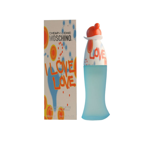 I Love Love Cheap & Chic for Women by Moschino EDT Spray 3.4 oz - Discount Fragrance at Cosmic-Perfume