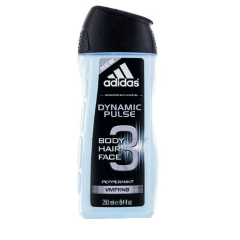 Adidas Dynamic Pulse for Men by Coty Hair Body Face Wash 8.4 oz - Cosmic-Perfume