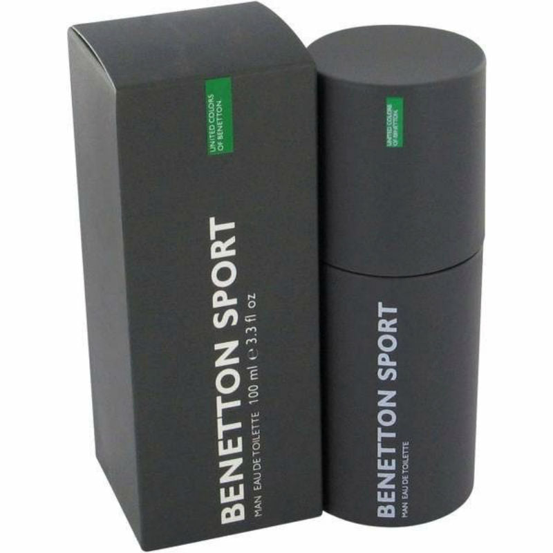 Benetton Sport for Men by Benetton EDT Spray 3.4 oz (New in Box) - Cosmic-Perfume
