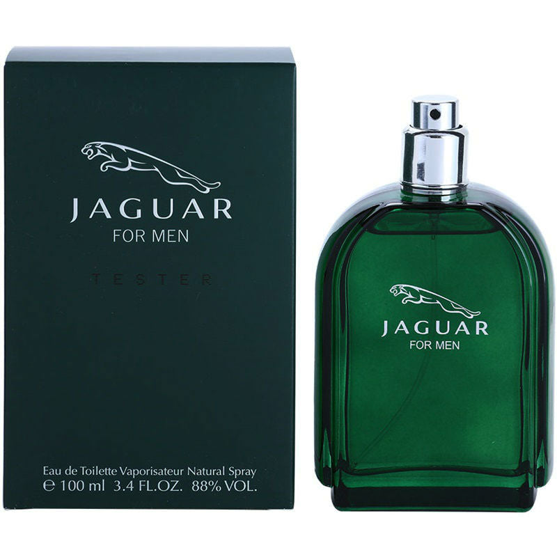 Jaguar Green for Men by Jaguar EDT Spray 3.4 oz (Tester) - Cosmic-Perfume
