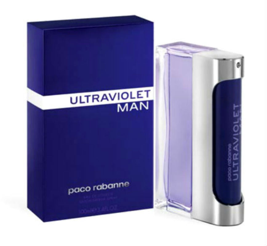 Ultraviolet for Men by Paco Rabanne EDT Spray 3.4 oz