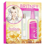 Fantasy Women by Britney Spears EDP Spray 0.5 oz + Dry Oil 4.2 oz Set - Cosmic-Perfume
