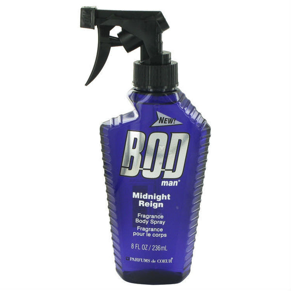 Bod Man Midnight Reign for Men by Fragrance Body Spray 8 oz - Cosmic-Perfume