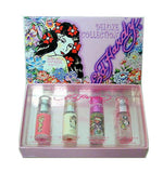 Ed Hardy for Women by Christian Audigier Deluxe Collection 4 pc Miniature Gift Set - Discount Fragrance at Cosmic-Perfume