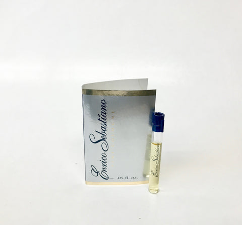 Enrico Sebastiano for Men by Enrico Sebastiano Cologne Sample Vial on Card - Cosmic-Perfume