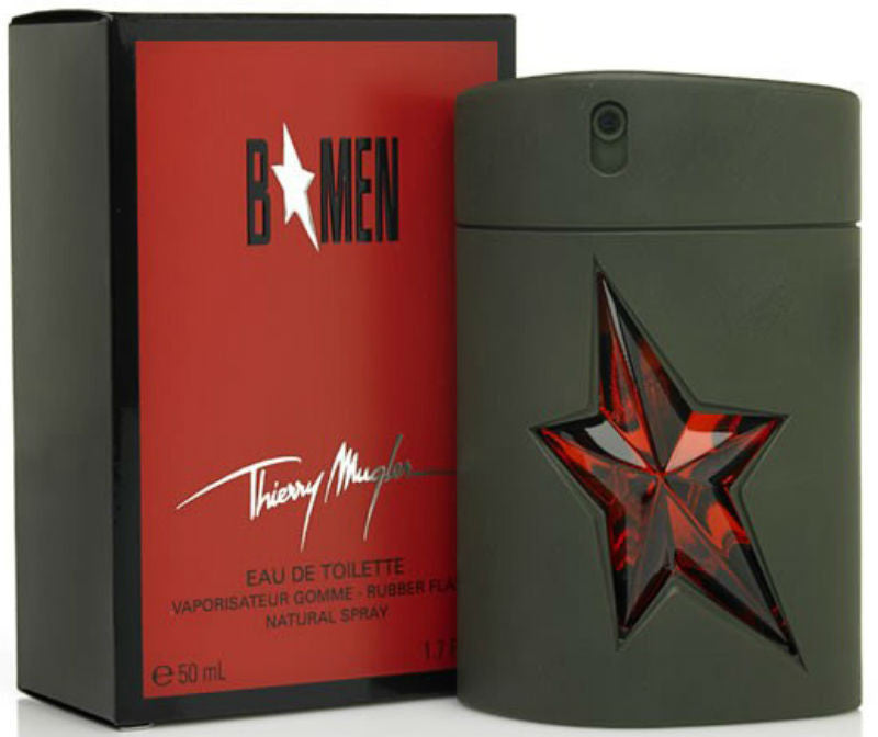 B* MEN Angel for Men by Thierry Mugler EDT Spray (Rubber) 1.7 oz - Cosmic-Perfume