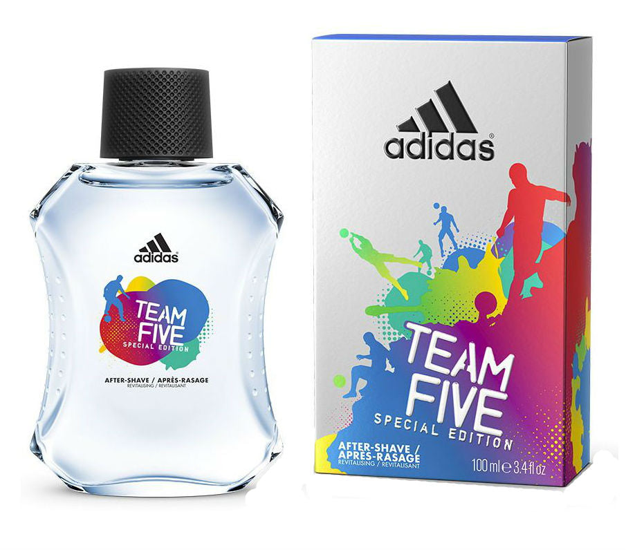 Adidas Team Five for Men by Coty After Shave Splash 3.4 oz