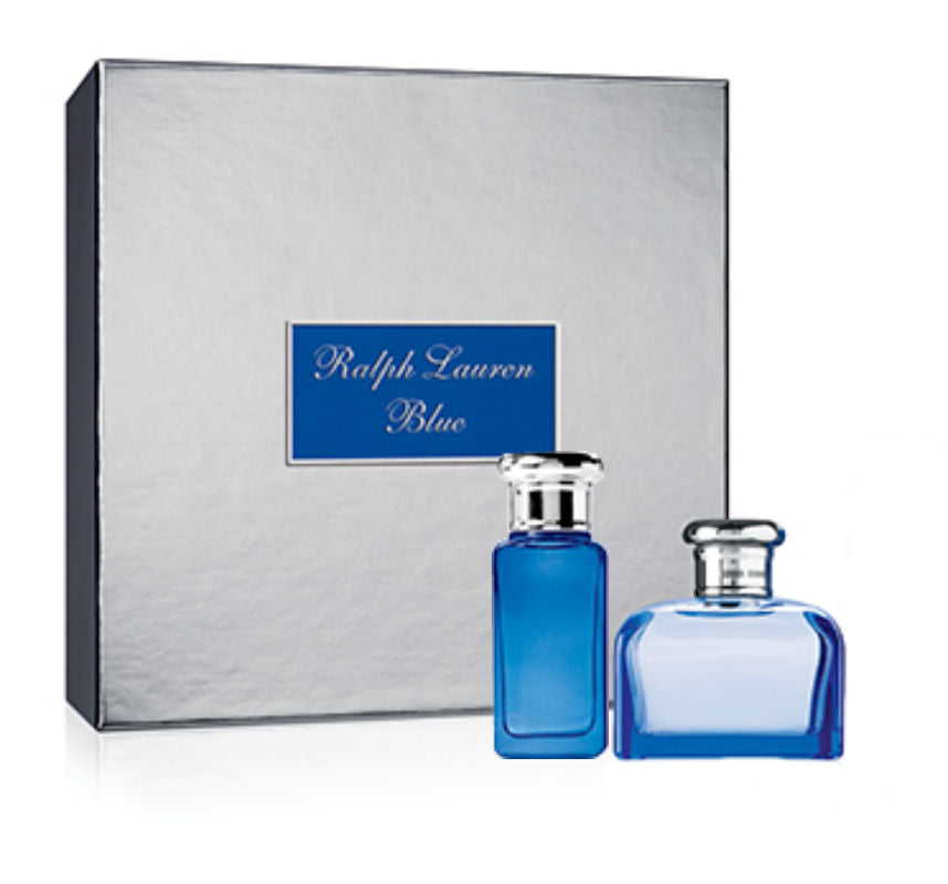 Ralph Lauren Blue for Women EDT Spray 4.2 oz + EDT Spray 1.0 oz  - Gift Set