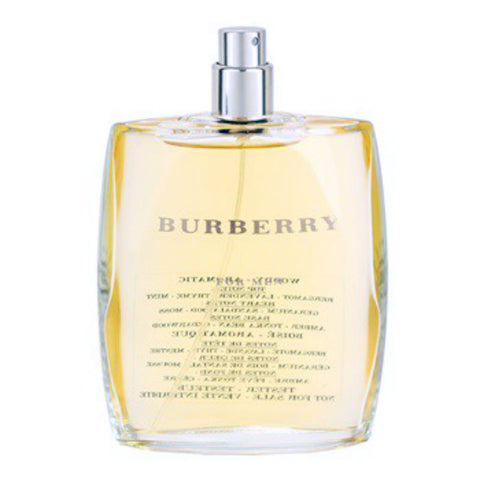BURBERRY CLASSIC for Men by Burberry EDT Spray 3.3 oz (Tester)
