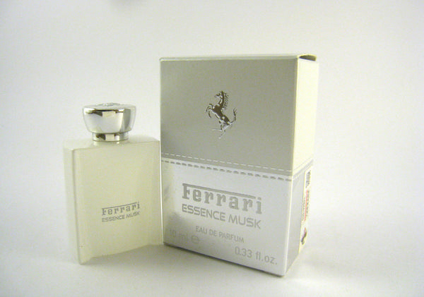 FERRARI ESSENCE MUSK for Men Eau de Parfum Splash Miniature 0.33 oz - Discount Fragrance at Cosmic-Perfume