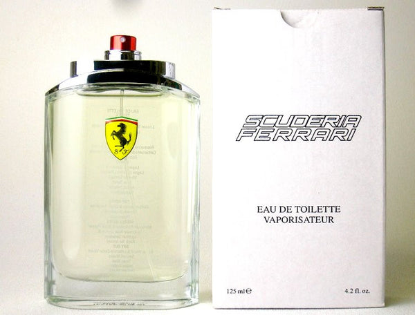 Ferrari Scuderia for Men by Ferrari EDT Spray 4.2 oz (Tester) - Cosmic-Perfume
