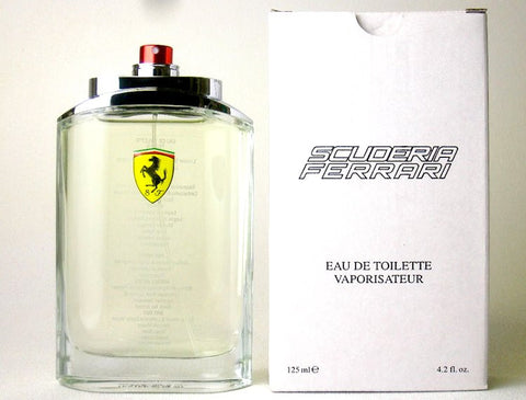 Ferrari Scuderia for Men by Ferrari EDT Spray 4.2 oz (Tester) - Discount Fragrance at Cosmic-Perfume