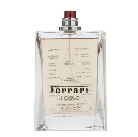 Ferrari Uomo for Men by Ferrari EDT Spray 4.2 oz (Tester) - Discount Fragrance at Cosmic-Perfume