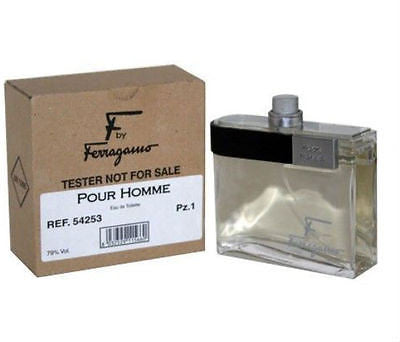 F Pour Homme for Men Salvatore by Ferragamo EDT Spray 3.4 oz (Tester) - Cosmic-Perfume