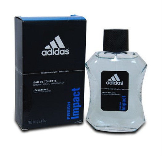 Adidas FRESH IMPACT for Men by Coty EDT Spray 3.4 oz (New In Box) - Cosmic-Perfume