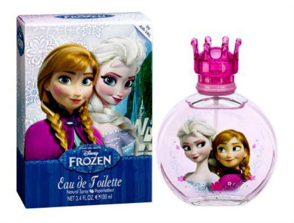 Frozen for Girls by Disney Eau de Toilette Spray 3.4 oz (New in Box) - Discount Fragrance at Cosmic-Perfume