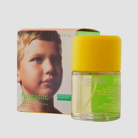 Funtastic Boy Cologne for Men by United Colors of Benetton EDT Spray 3.4 oz - Discount Fragrance at Cosmic-Perfume