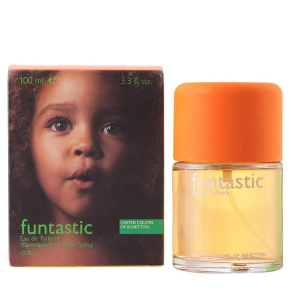 Funtastic Girl for Women by United Colors of Benetton EDT Spray 3.4 oz (New in Box) - Discount Fragrance at Cosmic-Perfume