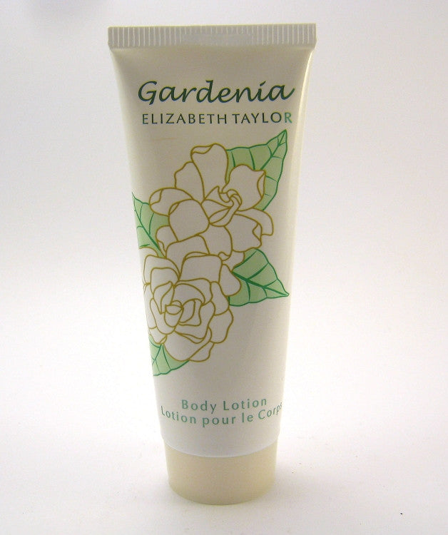 Gardenia for Women by Elizabeth Taylor Body Lotion 3.3 oz ~ NEW NO BOX - Cosmic-Perfume
