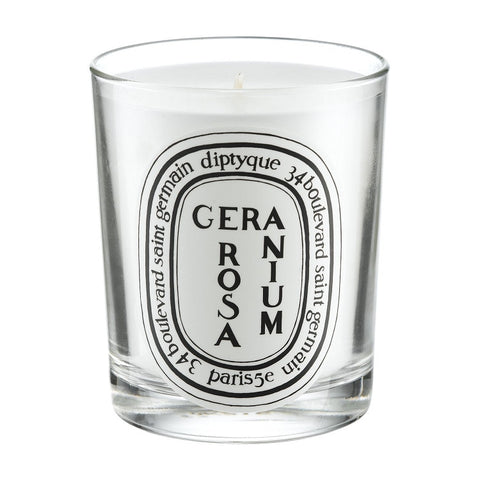 Diptyque Geranium Rosa Scented Candle 6.5 oz (New in Box) - Discount Accessories at Cosmic-Perfume