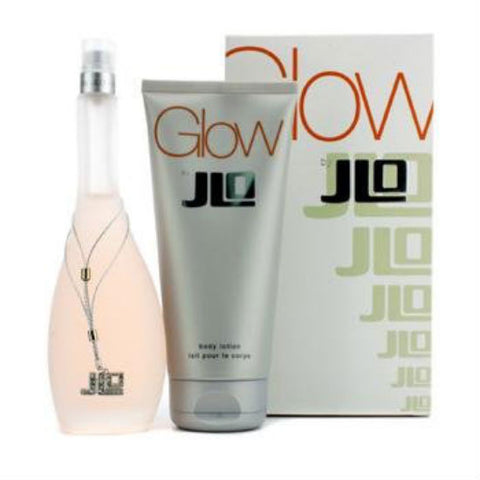 Glow for Women by Jennifer Lopez EDT 3.4 oz + Body Lotion 6.7 oz - GIFT SET - Discount Fragrance at Cosmic-Perfume