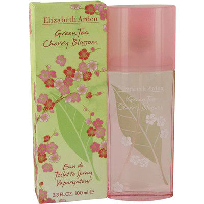 Green Tea Cherry Blossom for Women Elizabeth Arden EDT Spray 3.3 oz - Discount Fragrance at Cosmic-Perfume