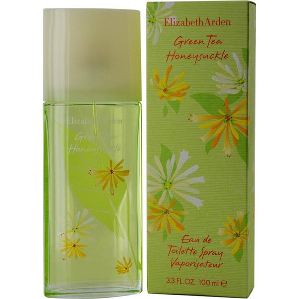 Green Tea HoneySuckle for Women Elizabeth Arden EDT Spray 3.3 oz - Discount Fragrance at Cosmic-Perfume