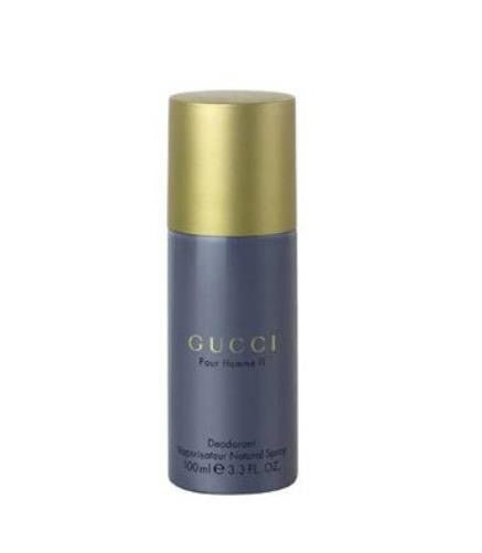 GUCCI Pour Homme II by Gucci Deodorant Spray 3.3 oz  (Unboxed) - Cosmic-Perfume