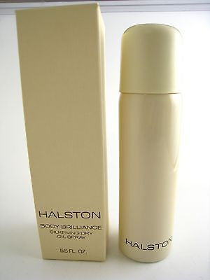 HALSTON Vintage for Women Silkening Dry Oil Spray 5.5 oz (New in Box) - Cosmic-Perfume