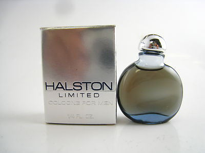 Halston Limited for Men Halston Cologne Miniature Splash 0.25 oz (New in Box) - Cosmic-Perfume