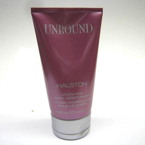 Unbound for Women by Halston Hydrating Body Moisturizer 4.4 oz (Unboxed) - Discount Bath & Body at Cosmic-Perfume