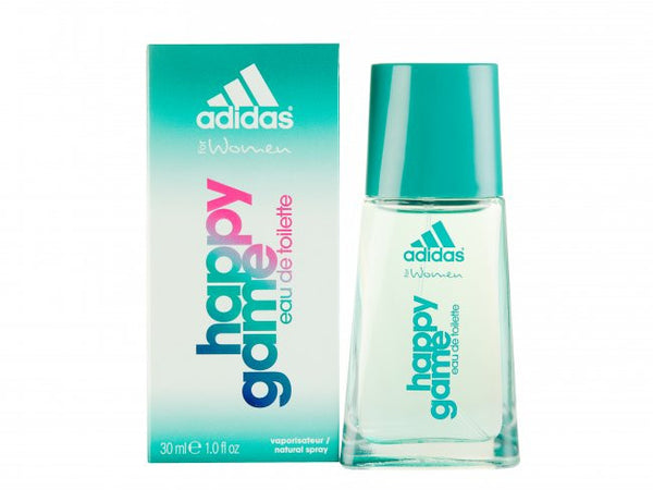 Adidas HAPPY GAME for Women by Coty EDT Spray 1.0 oz - Discount Fragrance at Cosmic-Perfume