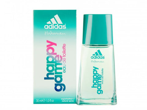 Adidas HAPPY GAME for Women by Coty EDT Spray 1.0 oz - Cosmic-Perfume
