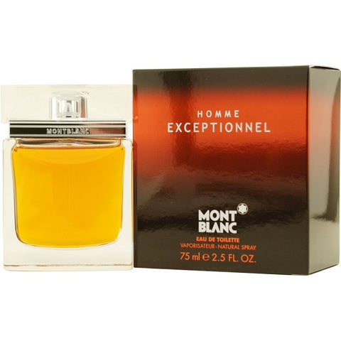 Exceptionnel for Men by Mont Blanc EDT Spray 2.5 oz (New in Sealed Box) - Discount Fragrance at Cosmic-Perfume