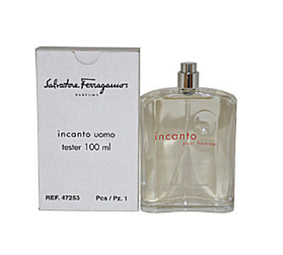Incanto Uomo for Men by Salvatore Ferragamo EDT Spray 3.4 oz (Tester) - Discount Fragrance at Cosmic-Perfume