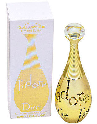 J'adore Gold Adoration for Women by Christian Dior EDP Spray 1.7 oz - Ltd. Edition - Discount Fragrance at Cosmic-Perfume