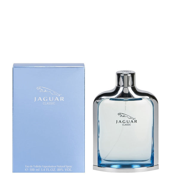 Jaguar Classic Blue for Men by Jaguar Eau De Toilette Spray 3.4 oz - Discount Fragrance at Cosmic-Perfume